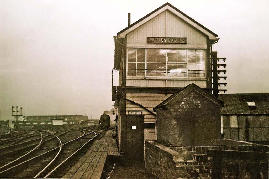 Sutton Oak Junction Signal Box
