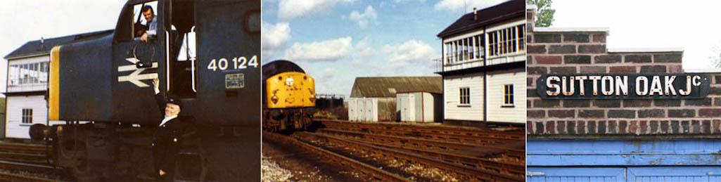Eric Coffey and Sutton Oak Signal Box
